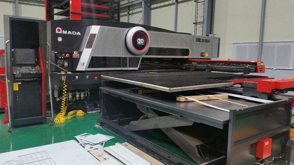 Unterstützung der EML + TK-Linie von Amada-Maschinen