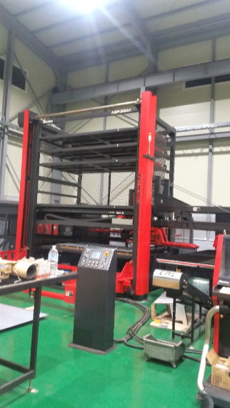 Support for the EML + TK line of Amada machines with stacking