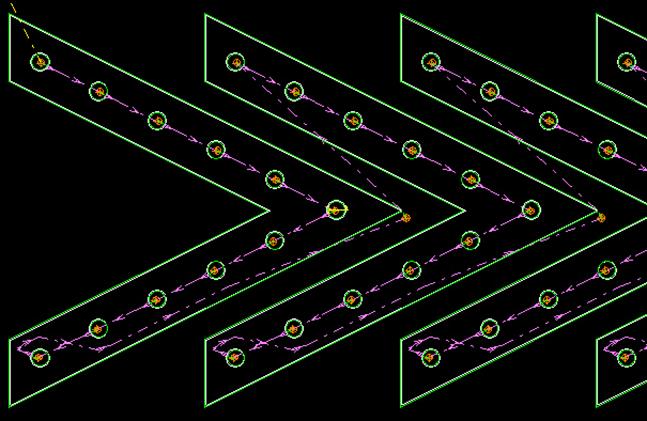 Tool Path Optimization: auto path finder