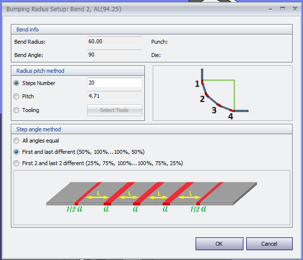 MBend Tooling: Bumping Bends Setup