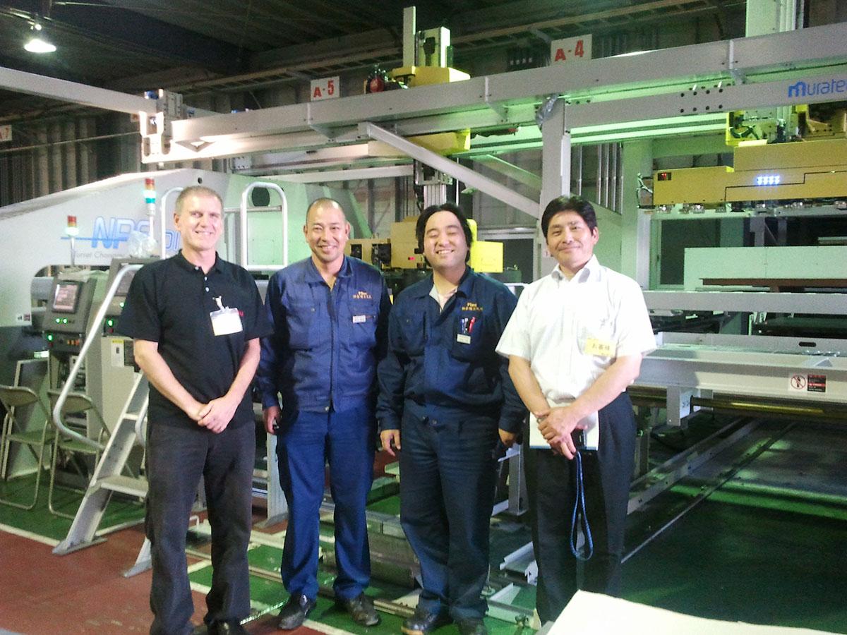 Murata NPS Masutani Seiko CADMAC Metalix