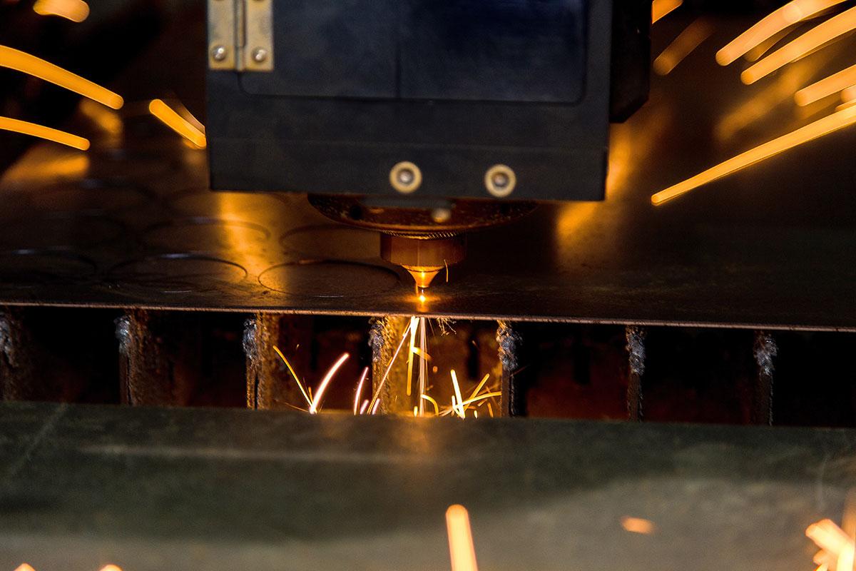 Solution cncKad pour l'usinage laser